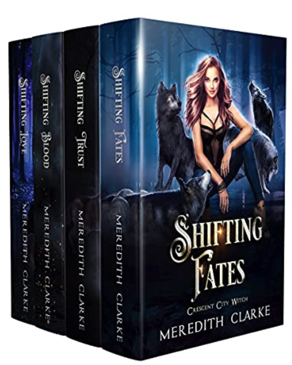 Shifting Fates: Crescent City Witch Series (Books 1-4)